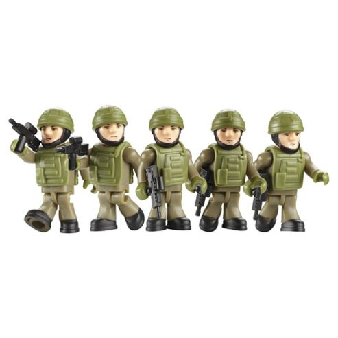 Character Building H.M Armed Forces Royal Marine Army Builder Pack