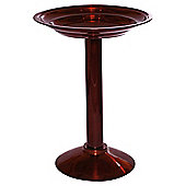 Chapelwood bird bath, dark copper colour