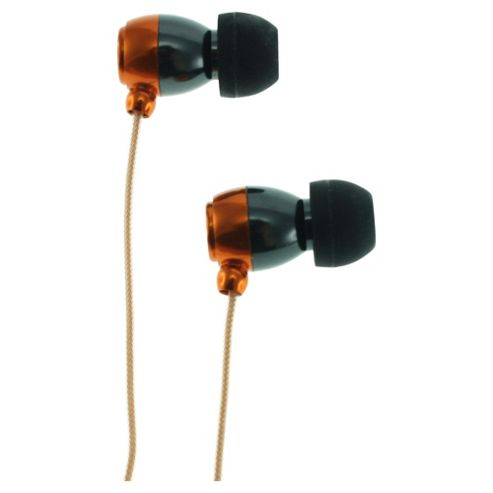 KitSound KS1 Earphones with Microphone Orange