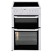 Beko BDC643W 60cm Twin Cavity Ceramic Cooker