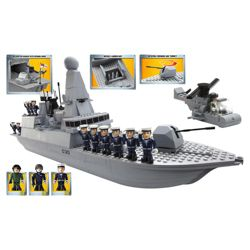 Character Building H.M Armed Forces Royal Navy Type 45 Destroyer