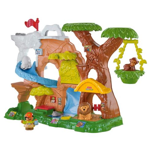 Fisher-Price Animal Sounds Interactive Playset