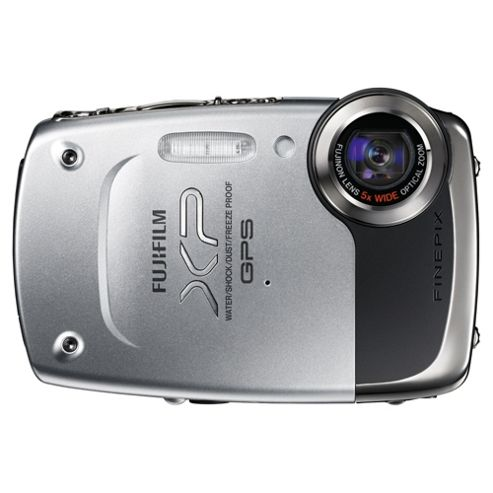 Fuji FinePix XP30 Digital Camera, Silver, 14.2MP, 5x Optical Zoom, 2.7 inch LCD Screen