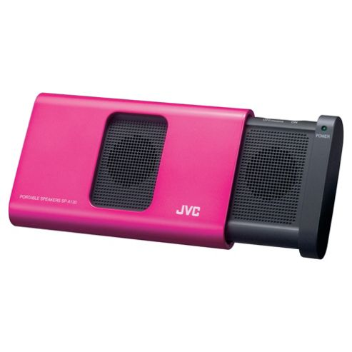 JVC SP-A130-PN-E Portable Stereo Speaker - Pink