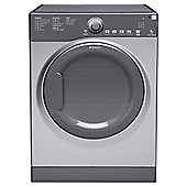 Hotpoint TVAM70CG Vented Tumble Dryer, 7kg Load, C Energy Rating. Graphite