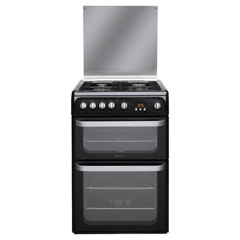 Hotpoint HUG61K 60cm Gas Double Oven