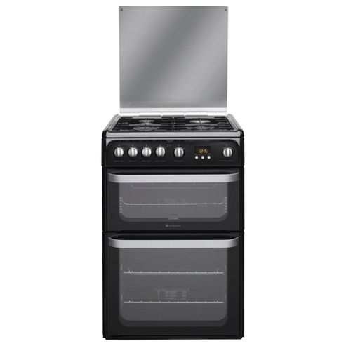 Hotpoint HUG61K 60cm Gas Double Oven