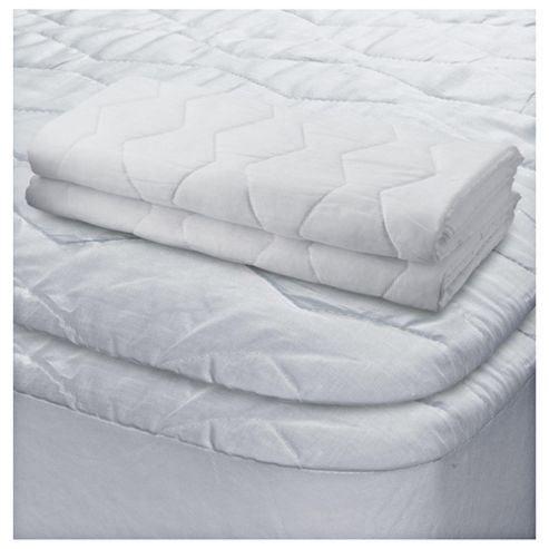 Tesco Standard Pillow Protector 2Pack And Single Mattress Protector