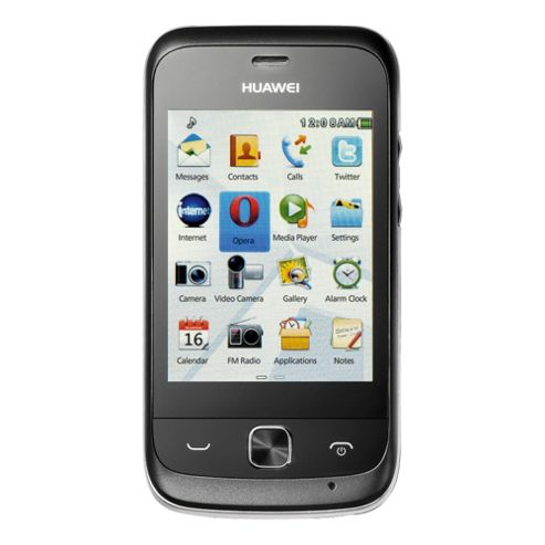 Tesco Mobile Huawei G7010 Black & Grey