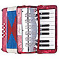 Bontempi ACW17 Toy Wood Accordion