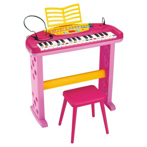 Bontempi SN3571 iGirl Keyboard With Legs, Stool & Mic