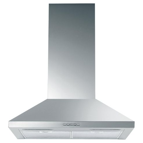 Indesit Chimney Hood with Electronic Push Button Control