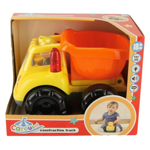 Carousel Construction Trucks - Assortment – Colours & Styles May Vary