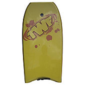 "TWF Boogie Board 42"" Yellow"