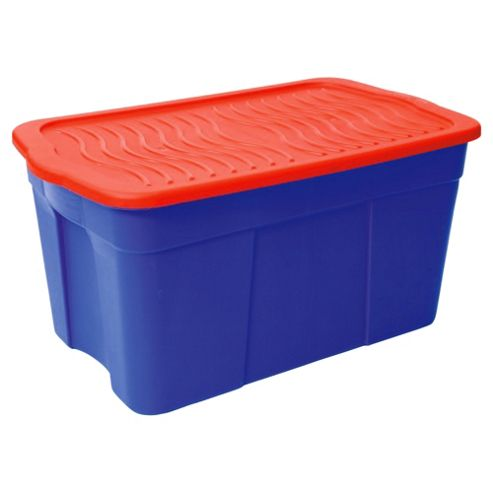 buy curver 120l storage box with lid from our boxes range. Black Bedroom Furniture Sets. Home Design Ideas