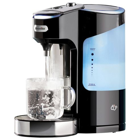 Breville Hot Cup One Cup Cordless Hot Water Dispenser, 2L - Black