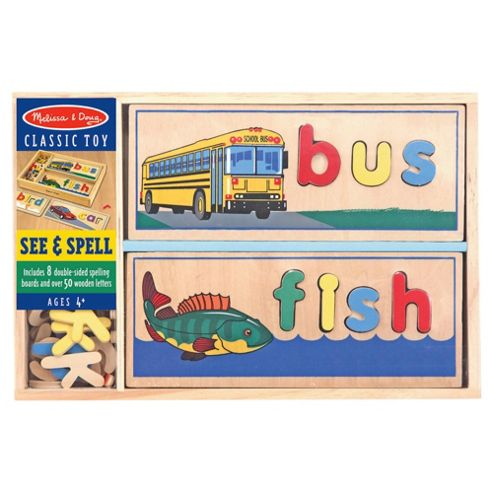 Melissa & Doug See and Spell Educational Game