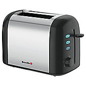 Breville VTT212 2 Slice Polished Stainless Steel Toaster - Silver