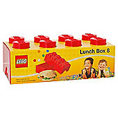 LEGO Storage Lunch Box 8 Red