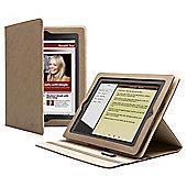 Cygnett Lavish Earth Brown Folio Stand Case for Apple iPad 2