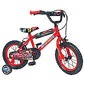 "Disney Cars 2 14"" Kids' Bike - Boys with stabilisers"