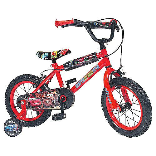Disney Pixar Cars 2 Kids 14'' Wheel Bike - Boys with stabilisers