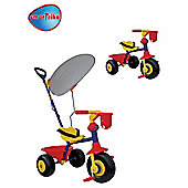 Smart Trike Easy Ride With Canopy, Red/Yellow
