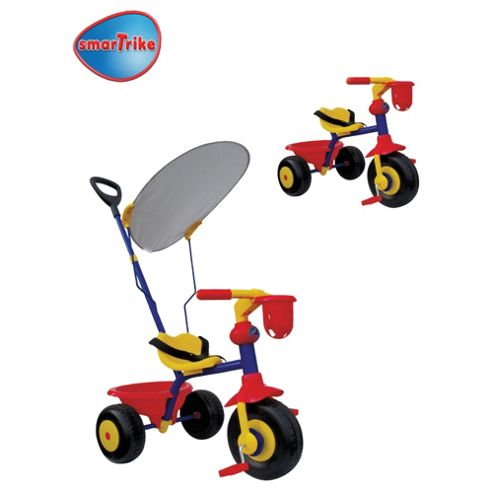 Smart-Trike Easy Ride With Canopy, Red/Yellow