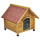 Doggyshack apex roof kennel, medium