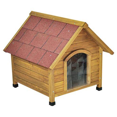 Doggyshack apex roof kennel, medium