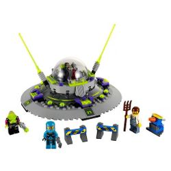 LEGO Alien Conquest UFO Abduction 7052