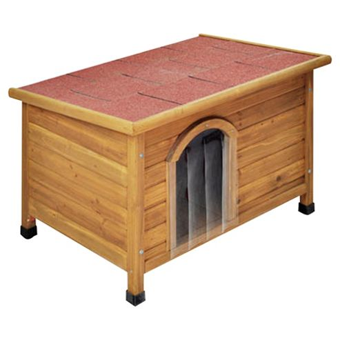 Doggyshack flat roof kennel, medium