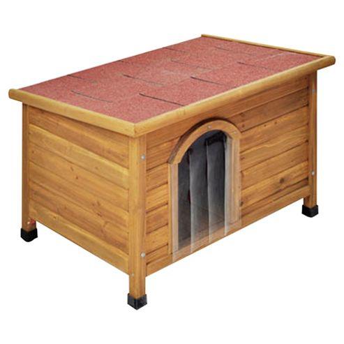 Doggyshack flat roof kennel, medium
