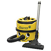 Numatic James JVP-180-11 Cylinder Vacuum Cleaner, A Energy Rating - Yellow
