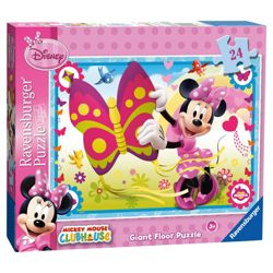 Disney Minnie Mouse 24 Piece Giant Floor Jigsaw Puzzle