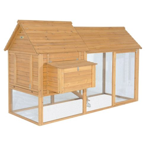 Chickenshack Pet house with run - Large