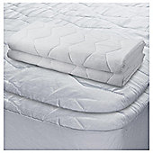 Tesco Standard Pillow Protector 2Pack And Double Mattress Protector
