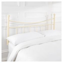 Lilly Double Headboard, Cream
