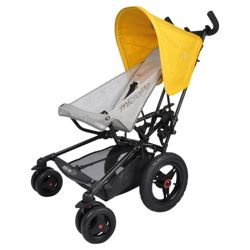 Micralite Fastfold Superlite Pushchair, Yellow