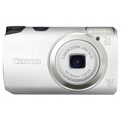 Canon A3200 IS Digital Camera silver