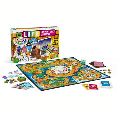 Game Of Life Adventures Edition Board Game
