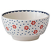 Johnson Bros Farmhouse 25cm Spot Daisy Serving Bowl