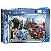 Happy Days York, 1000 Piece Jigsaw Puzzle
