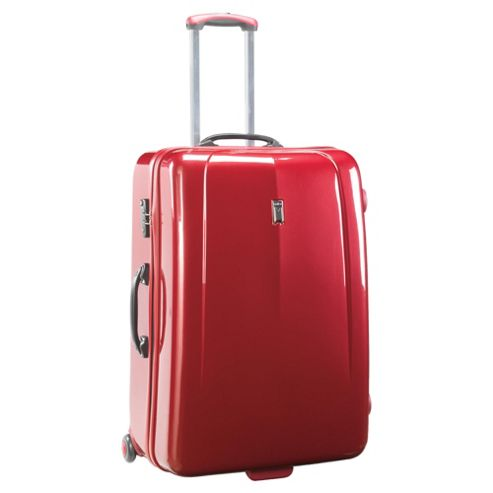 Antler Moderna 2-Wheel Hard Shell Suitcase, Red Large