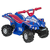 Evo ATV Quad Bike Electric Ride-On Blue & Red
