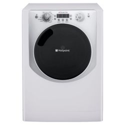Hotpoint Aqualtis AQ113F497I Washing Machine, 11kg Wash Load, 1400 RPM Spin, A++ Energy Rating. White