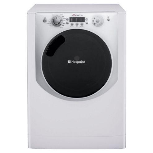 Hotpoint Aqualtis AQ113F497I Washing Machine, 11Kg Wash Load, 1400 RPM Spin, A++ Energy Rating, White
