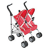 Silver Cross Toy Pop Duo Twin Pushchair