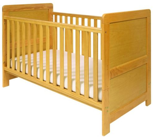 East Coast Atlanta Cot Bed, Natural