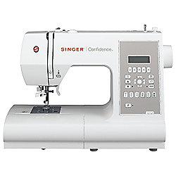 Singer 7470 Computerised Sewing Machine - White